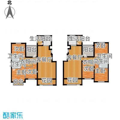 欧风小镇155.00㎡夏梦幽香户型6室2厅4卫2厨