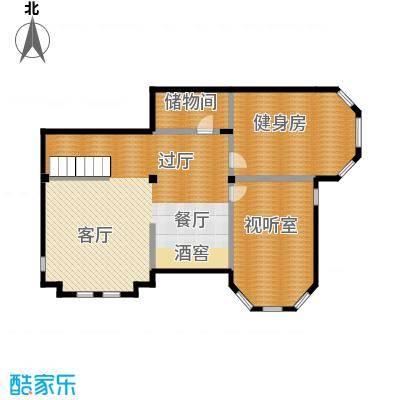 方迪山庄133.62㎡B3地下室户型