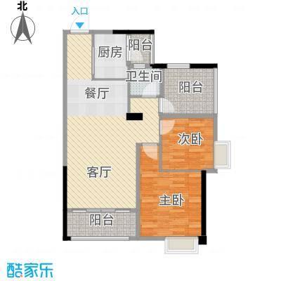 鼎峰花漫里88.00㎡1栋1、2单元03、04户型10室
