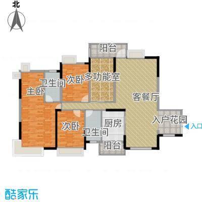 宏远御庭山143.00㎡78栋05+0607+08户型4室2厅2卫