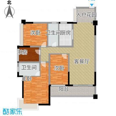 宏远御庭山139.00㎡78栋01+0203+04户型4室2厅2卫