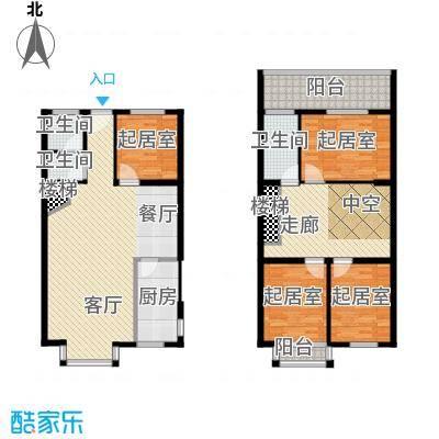 三泰茗居145.64㎡V户型10室