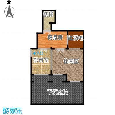 九洲御府111.50㎡洋房1FB地下室户型10室