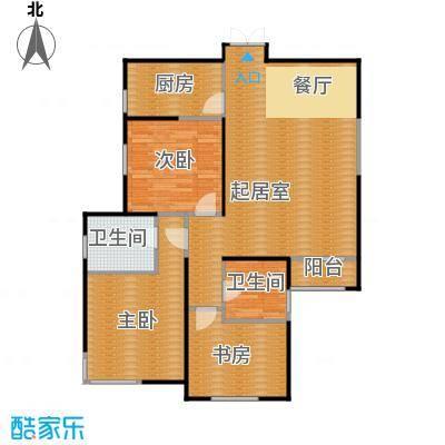 白桦林间126.00㎡3号楼B3-2户型10室