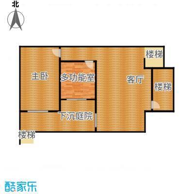 富海澜湾半岛111.00㎡央墅W1'地下室户型10室