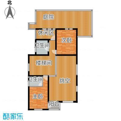 牛驼温泉孔雀城181.46㎡�泉独院二层户型10室
