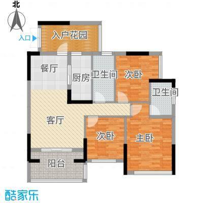 富盈WO城108.00㎡9栋1单元/2单元03、0户型3室2厅2卫