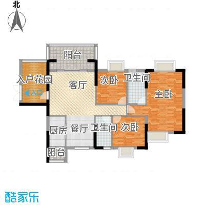 富盈WO城122.00㎡9栋1单元/2单元0、0户型3室2厅2卫