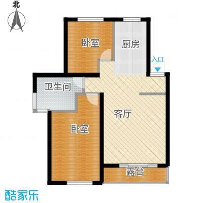 清韵百园81.86㎡山景洋房三层---8套户型10室