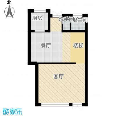 清韵百园69.01㎡联别F1-边户型10室