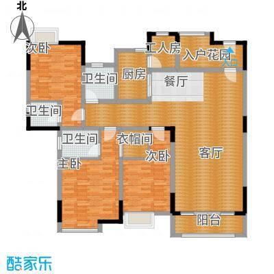 湖景壹号庄园153.89㎡户型10室