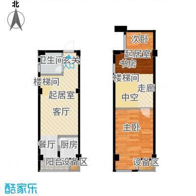 立方寓50.00㎡立方寓户型图K(6/6张)户型10室