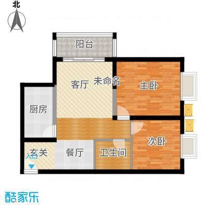 东城国际74.33㎡户型10室