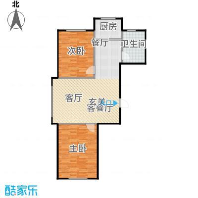 汇益华庭79.81㎡汇益华庭户型图(3/6张)户型10室
