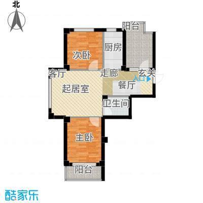 嘉恒国际73.00㎡嘉恒国际户型图(1/6张)户型10室