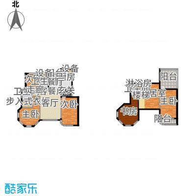 滨海假日136.64㎡七#楼户型图户型3室2厅2卫