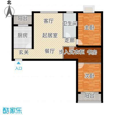 万锦花语岸112.00㎡万锦花语岸户型图高层(5/18张)户型10室