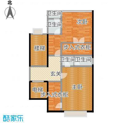 大朗碧桂园100.40㎡N56三层平面图户型10室