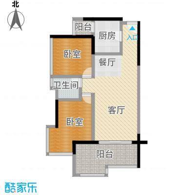 永江国际公馆66.61㎡户型10室