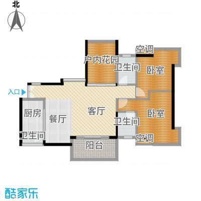 永江国际公馆99.73㎡户型10室