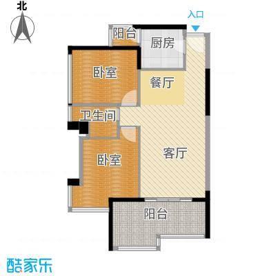 永江国际公馆79.94㎡户型10室