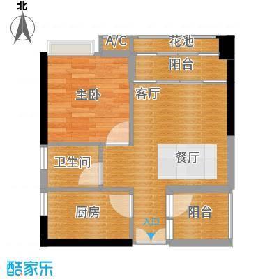 永江国际公馆45.55㎡户型10室