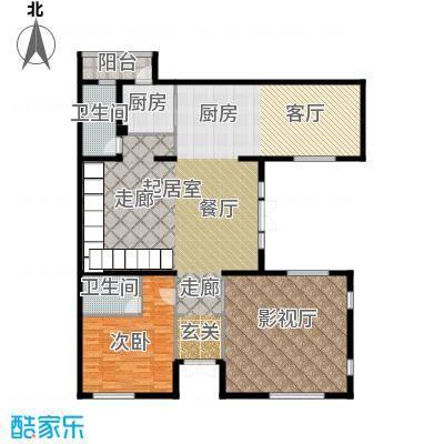 曲江公馆和园187.78㎡L-B一层户型10室