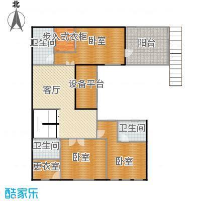 曲江公馆和园137.49㎡L-A二层户型10室