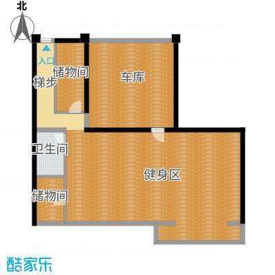曲江公馆和园103.75㎡L-B负一层户型10室