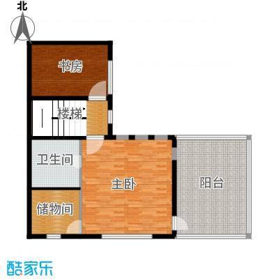 曲江公馆和园83.36㎡L-B三层户型10室