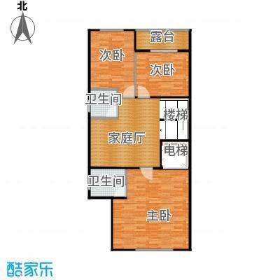 熙园山院243.00㎡S7型别墅3层户型5室3厅4卫