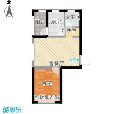 平谷蓝熙庭40.89㎡户型10室
