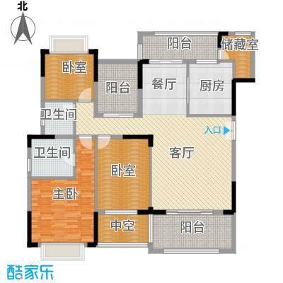 熙园山院152.00㎡51栋01-02型户型3室2厅2卫