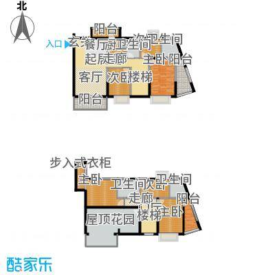 19栋复式G2户型六房两厅四卫