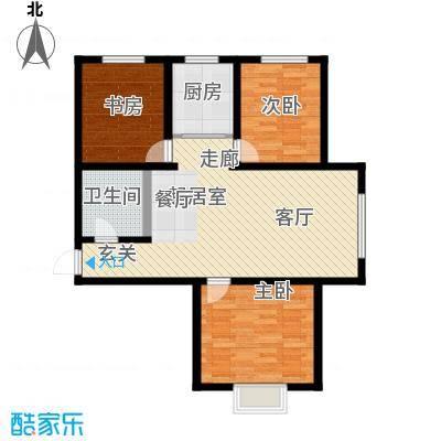 水泉文苑118.77㎡H户型