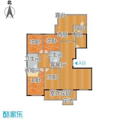 东岸国际220.00㎡6#T3户型10室