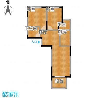 香港城65.79㎡户型10室