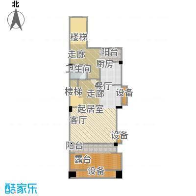 平果碧桂园74.38㎡N106户型一层户型3室2厅3卫