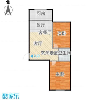 汇益华庭75.91㎡汇益华庭户型图(2/6张)户型10室