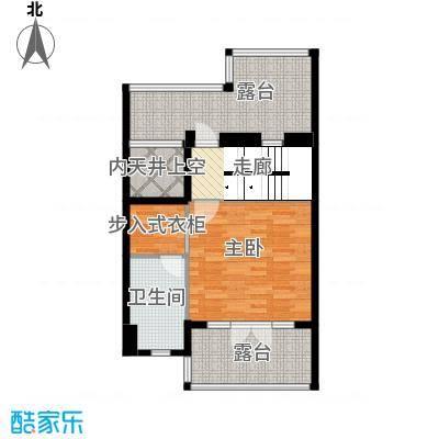保利生态城76.73㎡152栋2三层户型4室2厅4卫