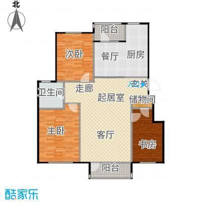 汇益华庭汇益华庭户型图户型G三室二厅一卫约122.14㎡(1/3张)户型10室