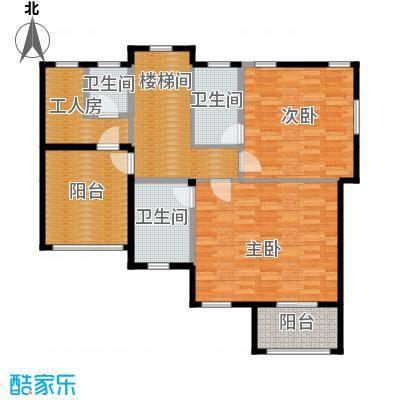 碧桂园梓山湖102.37㎡G209b2层户型10室