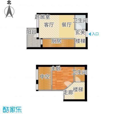 金隅时代城金隅时代城户型图5#公寓(7/13张)户型10室