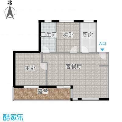 清韵百园79.24㎡南洋F5户型10室