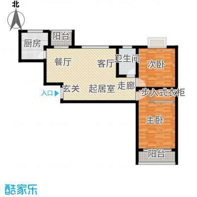 万锦花语岸105.00㎡万锦花语岸户型图(8/18张)户型10室