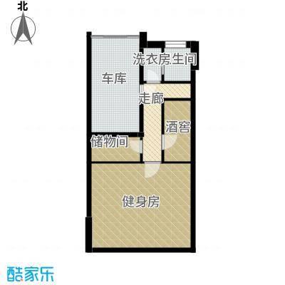 清韵百园73.48㎡联别B1边户型10室