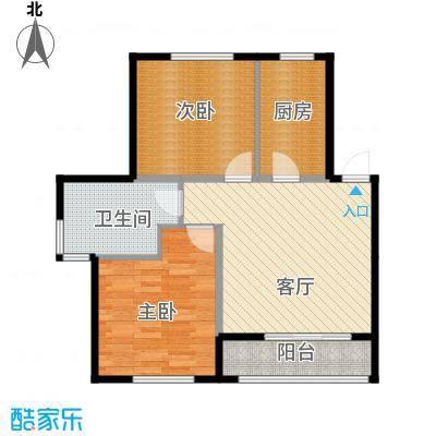 清韵百园72.90㎡北洋F3户型10室