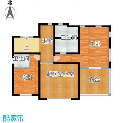 君海129.69㎡D户型10室