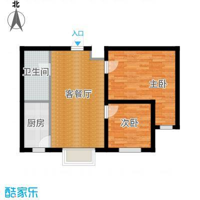 百荷湾73.00㎡户型10室