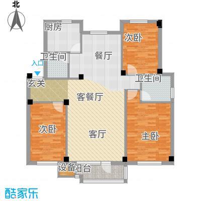 翠岛经典户型3室1厅2卫1厨